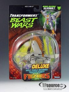 Beast Wars - Deluxe Fuzors Series - Silverbolt - Mint In Sealed Box Toy Store, Bellisima, Transformers, Robot, Beast, Food And Drink, Android, Mint, War