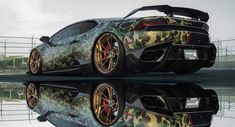 Automotive wraps have become so popular for exotic car owners in recent… - sara Sports Car Brands, New Sports Cars, Exotic Sports Cars, Sport Cars, Exotic Cars, Jaguar Xk, Lamborghini Huracan, Car Wrap, Fast Cars