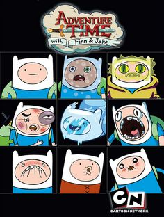 The many faces of Finn.