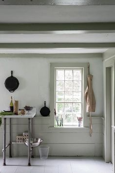 Eclectic Kitchen, Stylish Kitchen, Rustic Kitchen, Farrow Ball, Wall Exterior, Interior And Exterior, Interior Design, William Morris, His And Hers Sinks