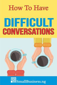 Learning how to have difficult conversations can come in handy especially in cases where you have to deliver bad news or discuss a dreaded issue. READ MORE. Team Coaching, Team Leader, Crucial Conversations, Conversation Questions, Organization Development, Cold Feet, Leadership Tips, Words To Use, Personal Relationship