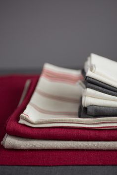 Our red and stripe mix Rósóg Collection from www.Agnes H Design.ie