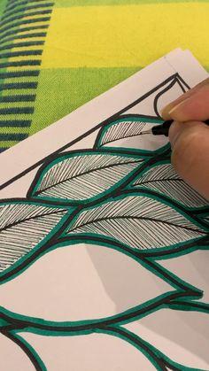 Drawing Videos For Kids, Art Drawings For Kids, Pen Art, Marker Art, Mundo Hippie, Stippling Art, Mandala Art Lesson, Doodle Art Designs, Simple Mandala