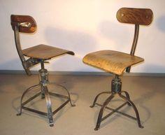 chaises industrielles