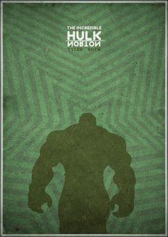 The Incredible Hulk Minimal Movie Poster