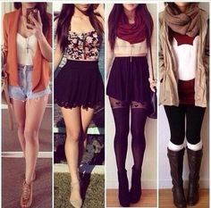 skirt necklace sweater coat scarf leggings boots blouse mickey mouse