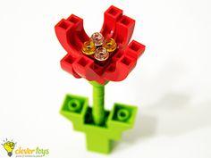 LEGO flower - CleverToys | Blog
