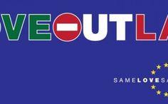 "Campagna internazionale ""Love Out Law"" #loveoutlaw #diritticivili #lgbt #gay"