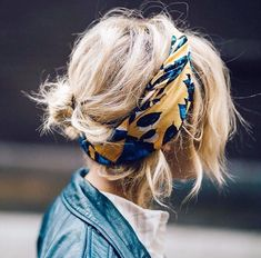 """Who What Wear on Instagram: """"Accessories really do make an outfit. Tap the link in our bio for the cool-girl hair accessories to shop right now. // Photo by @troprouge"""""""