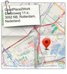 #GoodPlace2Work  #flexwerkplek #vergaderlocatie #netwerkplek Elektroweg 11-z, 3052 NB, Rotterdam, Nederland