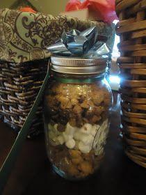 Recipe for a Home: Christmas Baskets & mason jar gifts