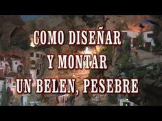 DIY COMO DISEÑAR Y MONTAR UN BELÉN, PRESEPI, PRESEPIO, PESEBRE(así es como lo hago yo) - YouTube