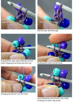 Perle Sauvage: Bead Crochet Rope