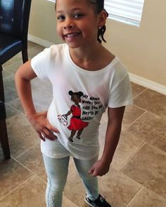 MY MAMA WORKS TOO HARD FOR ME NOT TO BE GREAT® Custom Tee rocked by this gorgeous little diva! Thanks Liz for your purchase! #MyAlbuquerqueSista #GirlBossesRULE ❤️👑 Order it at www.BodyDecorBoutique.com #DesignedBy #TheQueenOfCustom #BodyDecorBoutique #TheEclecticUniqueBoutique