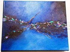 Fondo del Mar - $ 1500.- Acrílico 40 x 50 cm VERONICA HANISCH