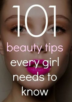 PIN FOR LATER - Check out these 101 beauty tips that will transform your beauty routine! #beautysecret