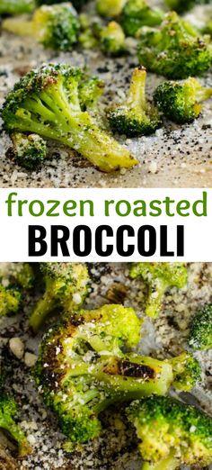 Roasted Frozen Broccoli