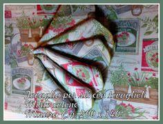 Tovaglia con tovaglioli misto cotone di Taller campesino su DaWanda.com