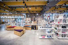 Upside department store by Atelier (M + G), Herstal