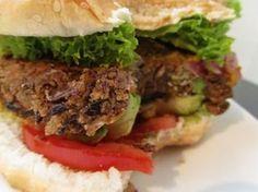 Vegan Grilled Bean Burger EASYPEASY!
