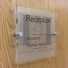 Smart Signs... Awesome office door signs to create a WoW around the office  http://www.de-signage.com/Officesigns.php