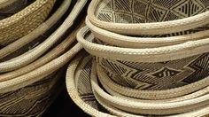 Baskets from Zimbabwe. Made by the Tonga People, Wange at Kim Sacks Gallery Johannesburg
