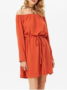 GET $50 NOW   Join RoseGal: Get YOUR $50 NOW!http://www.rosegal.com/casual-dresses/stylish-off-the-shoulder-long-964665.html?seid=8229767rg964665