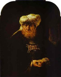 Рембрандт. Царь Озия, пораженный проказой. 1635. Дербишир. Чатсуорт-хаус.
