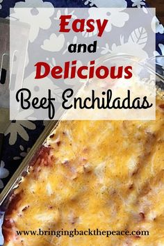 Not sure what to make for dinner? This is an easy and delicious recipe that the entire family will love. It's ideal for busy weeknights and picky kids. Try it tonight!