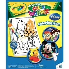 Crayola Color Wonder Refill Coloring Pad - Disney by Crayola. $12.99. Order yours today!. Color Wonder Coloring Pads offer a mess-free activity for children that requires little to no supervision and is great to use anytime, anywhere.. Now your kids can enjoy hours of creative fun, coloring their favorite Playhouse Disney pals!. Recommended for ages 3 and up.. Color Wonder™ Coloring Pads offer a mess-free activity for children that requires little to no supervision and is gr...