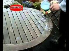Holz durch Bürsten strukturieren - YouTube