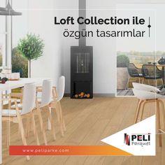 Peli Parke Loft collection ile ruhundaki sanatçıyı özgür bırak! Oda tasarımlarında zemin renkleri oldukça önemlidir. Yüzeyindeki doğal görünüm ve zengin renk seçenekleri ile diğer koleksiyonlardan farklılaşan ''LOFT COLLECTION'' sizi bir sanatçı gibi dekorasyon fikirlerinin sınırından muaf tutar.