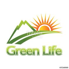 """Nature Green Life"" Stock image and royalty-free vector files on Fotolia.com - Pic 37240909"