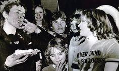 Sex Pistols in Huddersfield  Christmas day 1977