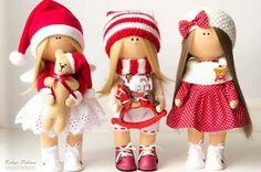 Lindas bonecas natalinas