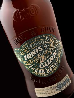 Innis & Gunn Craft Lager on Behance by Stranger & Stranger