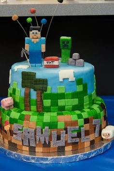 Cake Toppers Minecraft Uk
