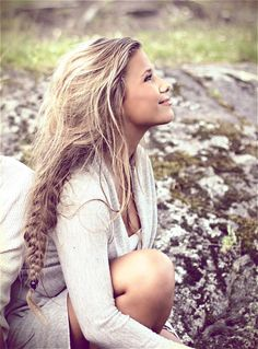 messy braid only if I had long enough hair..