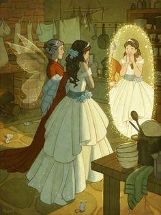 Art | Cinderella and the new dress | Kelley McMorris