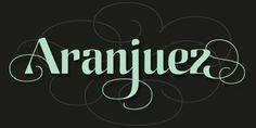 Aranjuez Pro font download