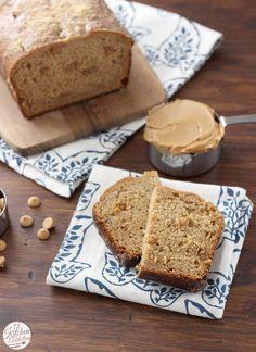 Peanut Butter Graham Banana Bread from @akitchenaddict
