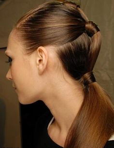 Knotted Ponytail girls long hairstyles - hairstyles for girls with the long hair