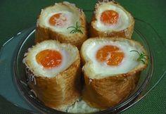 Margaréta - gyors tojásos reggeli