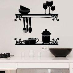 Kitchen deco - Vinilos para la cocina ...