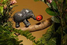 Elefant, Japan, 1950er Jahre