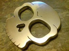 brass knuckles | The Skull Knuckle Duster / Brass Knuckles