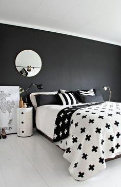Blanco y negro, un clásico que nunca pasa de moda.