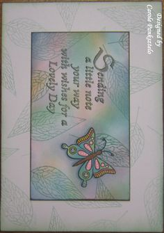 October 2017 Tina Cox's Butterflies & Flowers by Clarity
