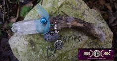 Sea Witch Healing Wand - Mermaid Power - Healing from Water Element by PaganOdana on Etsy