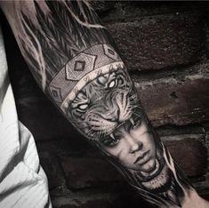 """4,767 curtidas, 30 comentários - ⠀⠀⠀⠀⠀⠀⠀⠀TATTOO ARTISTS (@tattoo.artists) no Instagram: """"Elaborate B&G forearm piece Artist IG: @gansogalvao"""""""